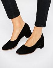 Vagabond Jamilla Black Suede Block Heel Shoe