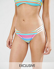 Free Society Candy Stripe Bikini Bottom