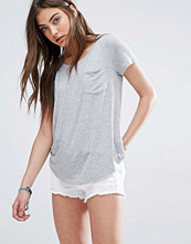 Hollister Drapey Easy Pocket T-Shirt
