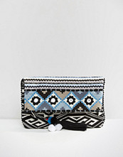 Oasis Fabric Fold Over Clutch Bag
