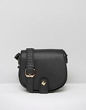 Yoki Fashion Saddle Cross Body Bag With Eyelet Strap