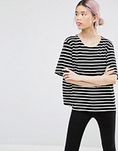 Ganni Old Sprice Striped Classic T-shirt
