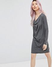 Ganni Cowl Neck Shift Dress