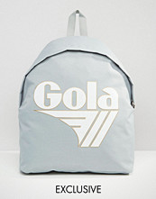 Gola Exclusive Classic Backpack In Grey And White