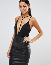 Missguided Strappy Harness Neck Body