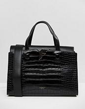 Fiorelli Brompton Tote Bag in Black Croc