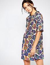Ivana Helsinki Irene Sequin Patterned Swing Dress