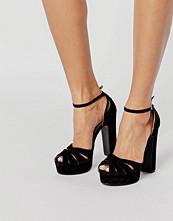 Public Desire Macey Platform Heeled Sandals
