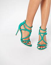 Public Desire Gaby Strappy Heeled Sandals