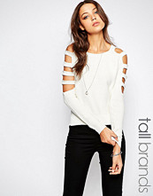 Noisy May Tall Cut Out Sleeve Jumper