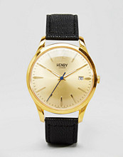 Henry London Black Westmister Watch HL39-S-0006