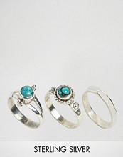 Rock 'N' Rose Rock N Rose Finola Turquoise Sterling Silver Ring Multipack