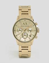 Armani Exchange Gold Lady Banks Watch AX4327