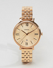 Fossil Rose Gold Jacqueline Watch ES3435