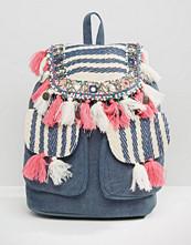 America & Beyond Mini-Tassel Backpack