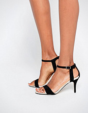 Carvela Kollude Black Kitten Heeled Sandals