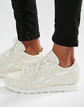 Reebok Classic Trainers In Snake Print Leather