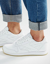 Reebok Classic White Trainers With Crepe Sole