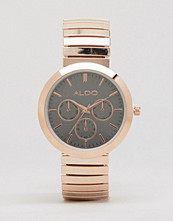 ALDO Rose Gold Chrono Watch
