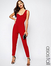 Asos Tall One Shoulder Jersey Jumpsuit