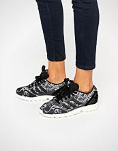 Adidas Originals X Farm Paisley Print Zx Flux Trainers