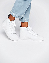 Fred Perry Ellesmere Mid Leather Trainers