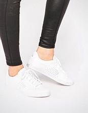 Le Coq Sportif White Leather Agate Lo Plimsoll Trainers