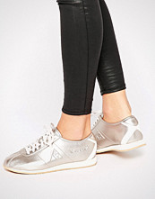 Le Coq Sportif Rose Gold Metallic Wendon Trainers