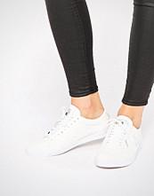 Le Coq Sportif Premium White Leather Agate Lo Quick Lace Trainers
