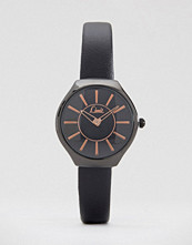 Limit Black Strap Watch with Black Dial