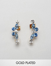 Johnny Loves Rosie Bria Blue Ear Cuffs