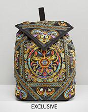Reclaimed Vintage Ornate Embroidered Backpack
