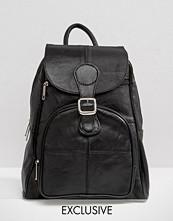Reclaimed Vintage Soft Leather Backpack