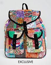 Reclaimed Vintage Patchwork Backpack