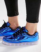 Wize & Ope Pop Blue Light Up Sole Trainers