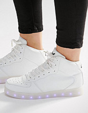 Wize & Ope Light Up Sole Hi Top Trainers