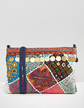 Glamorous Festival Cross Body Bag With Coin Detail