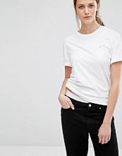Nike Boyfriend Tshirt With Embroidered Swoosh Logo