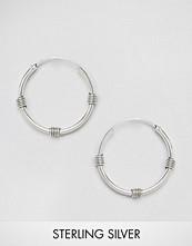 Kingsley Ryan Sterling Silver 14MM Bali Hoop Earrings