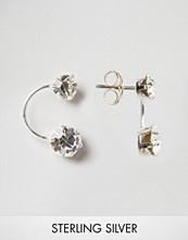Kingsley Ryan Sterling Silver Double Drop Through & Through Earrings