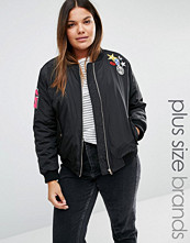 Alice & You Bomber Jacket With Badge Detail