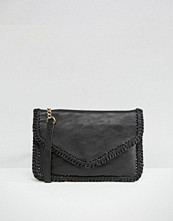 Oasis Whipstitch Clutch