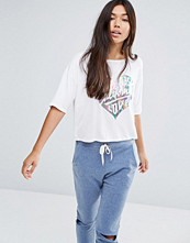 Boohoo Metallic Print West Coast T-Shirt