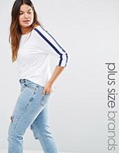 Boohoo Plus Stripe T-Shirt