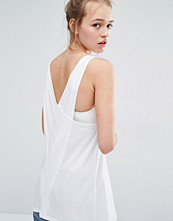 Monki Cross Back Top