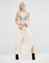 Free People Poppy Petal Trousers With Splits