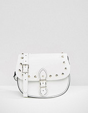 Leather Satchel Company The Leather Satchel Company Studded Saddle Bag