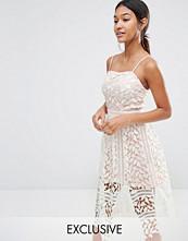 Boohoo Exclusive Premium Lace Cami Midi Dress