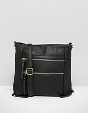 Oasis Multi Zip Cross Body Bag