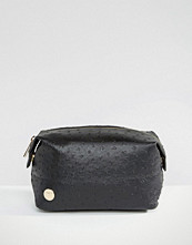 Mi-pac Make-Up Bag in Ostrich Black